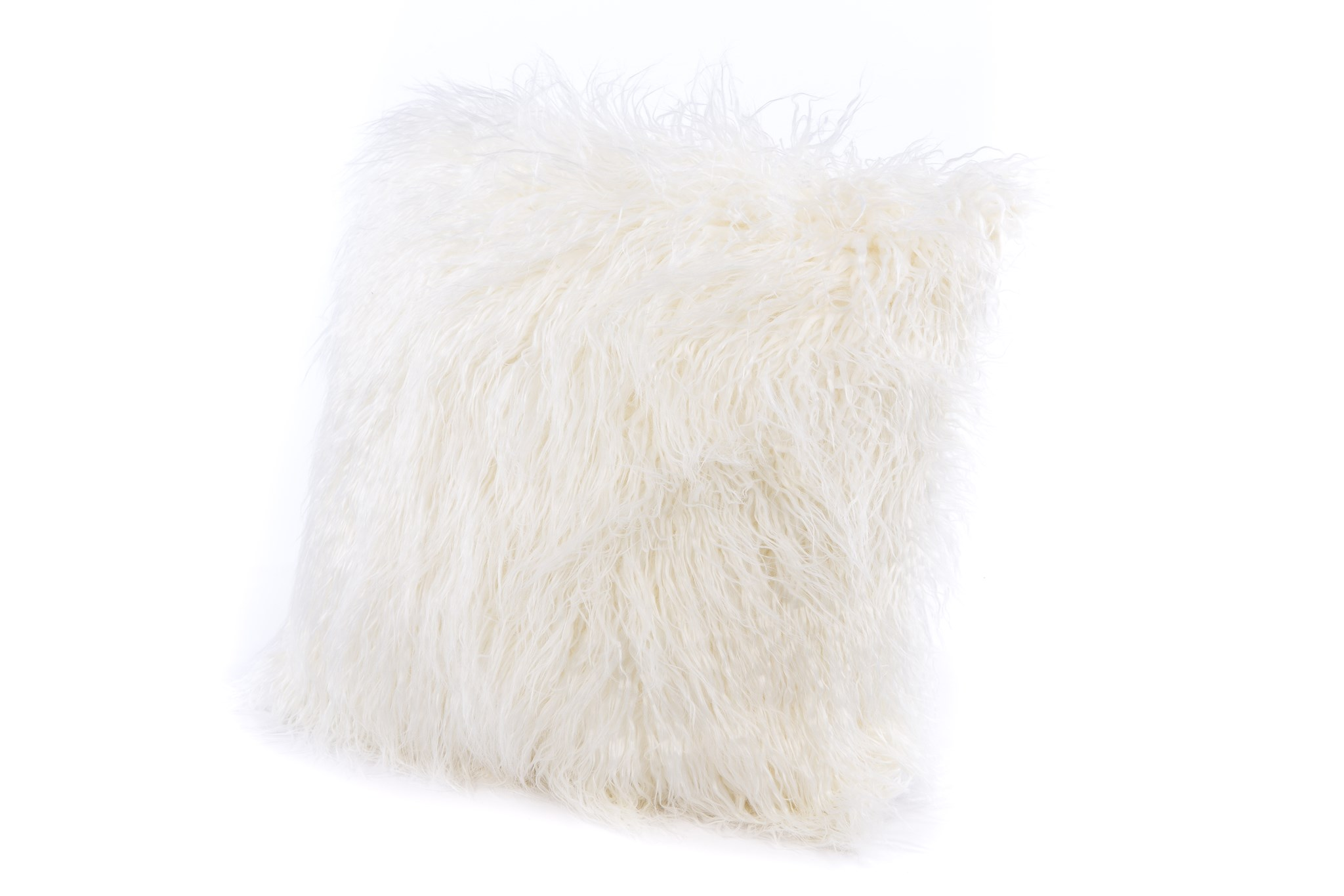 Faux Tibetan Lamb Pillow: 18