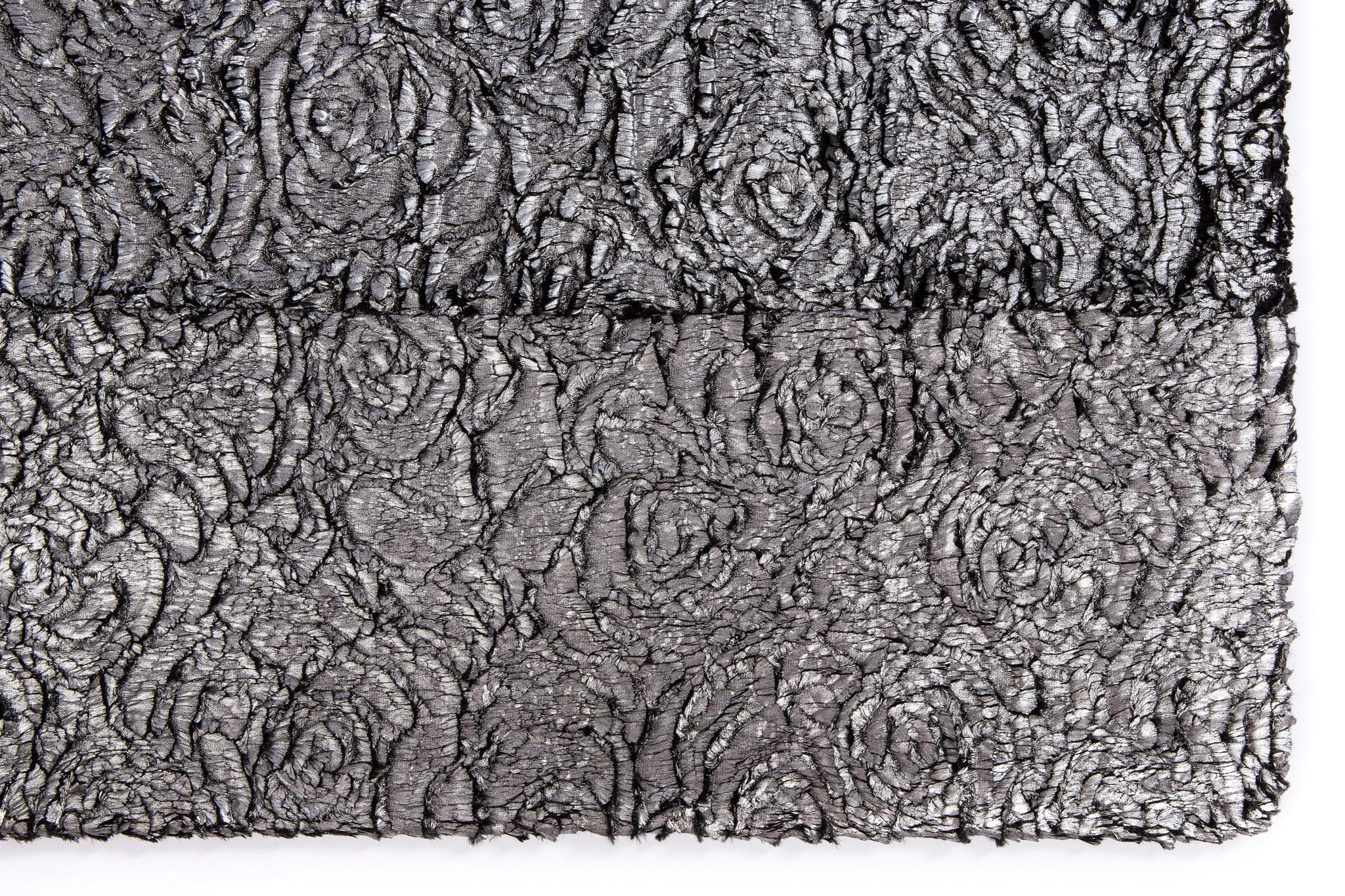 Velda Rose Rug: 6'x9' Silver
