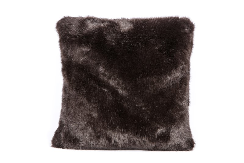 Faux Mink Pillow: 18