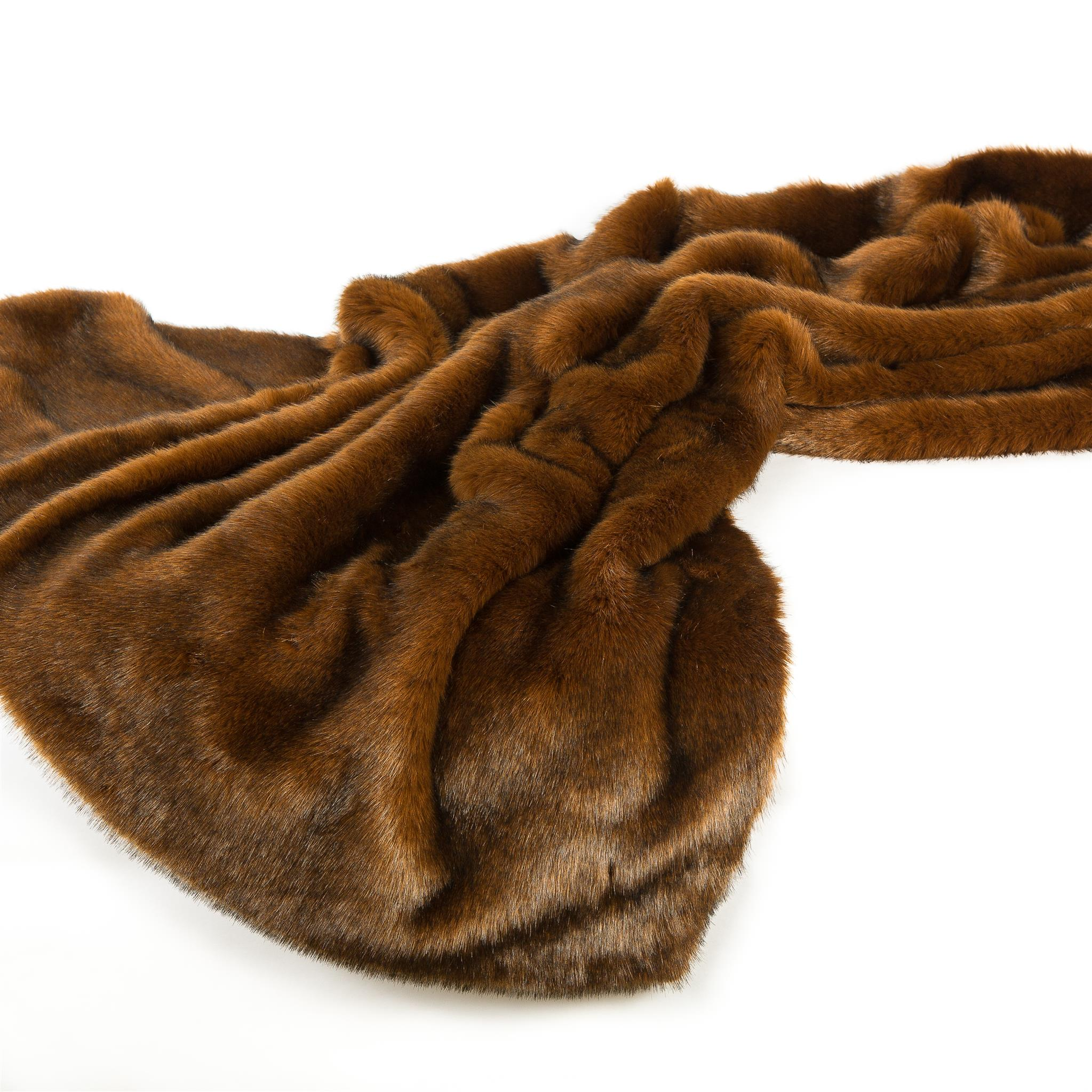 Faux Mink Throw: 48