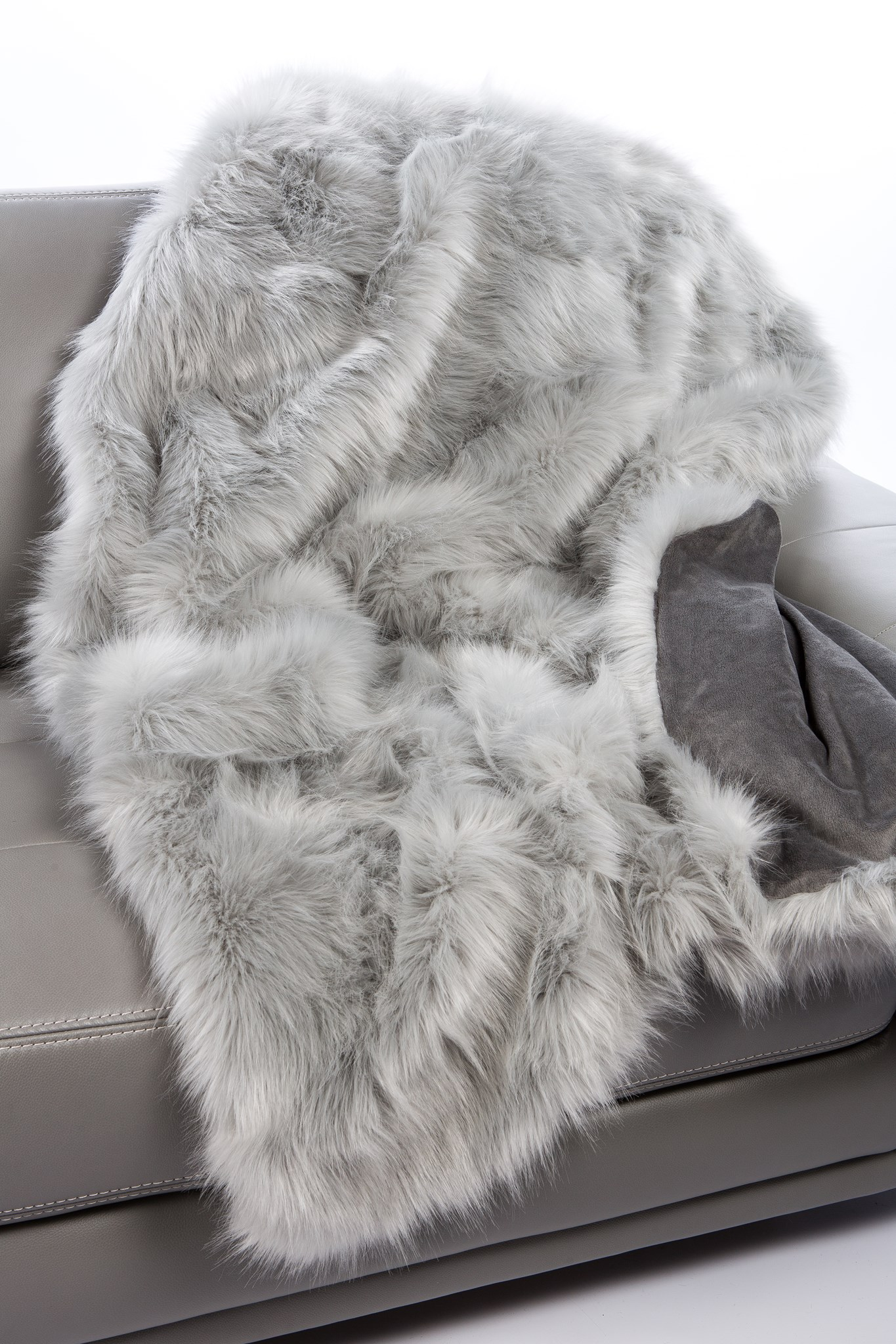 Faux Fox Throw: 48