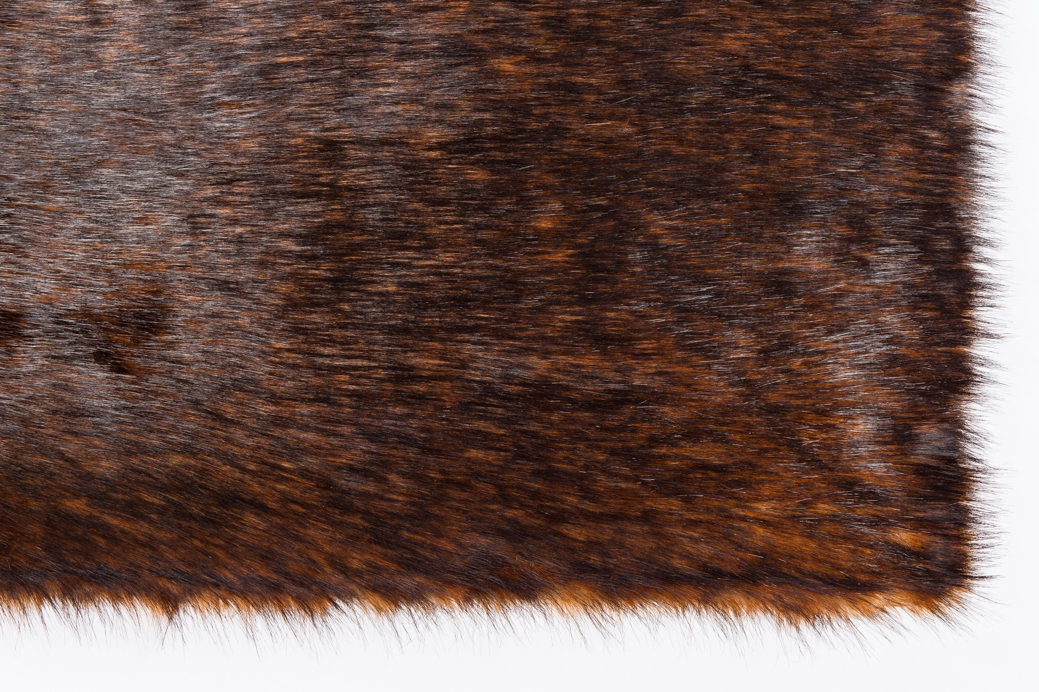 Faux Fox Rug: 6'x9' Red