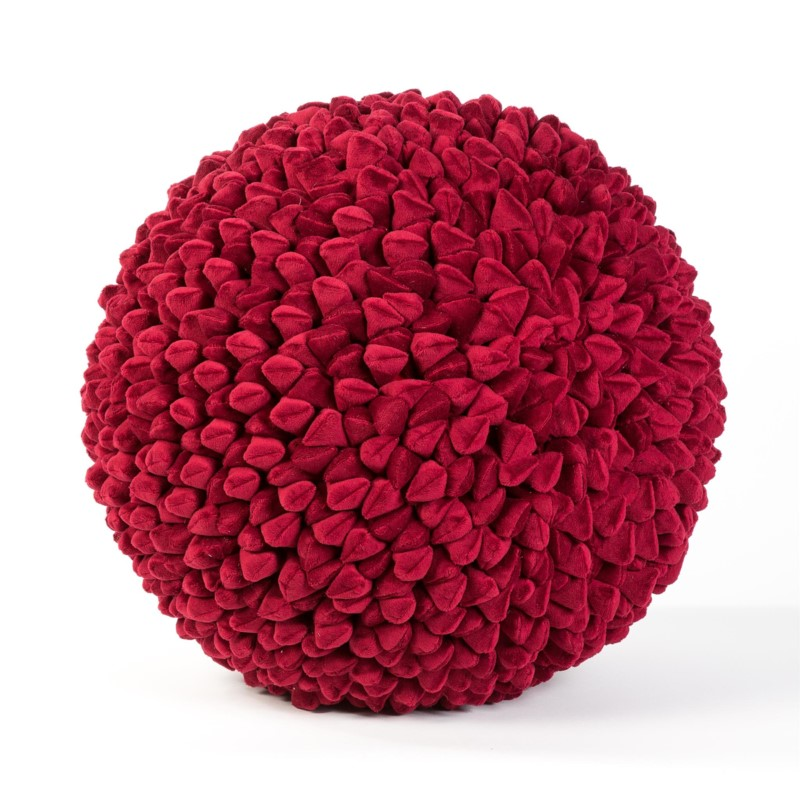 Pebble Chamois Ball: 55cm Red