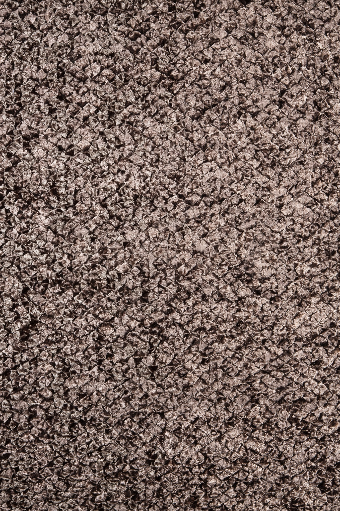 Shimmer Pebble Rug: 6'x9' Chocolate
