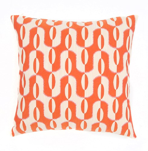 Acoma - Tangerine -  Pillow - 12