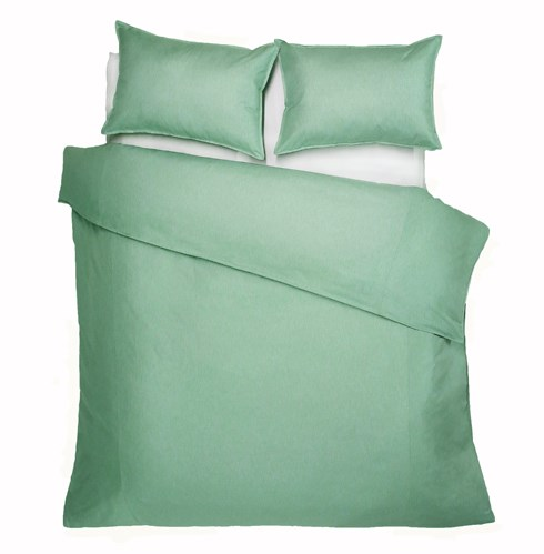 Bedford - Mint -  Duvet Cover  - Queen Plus