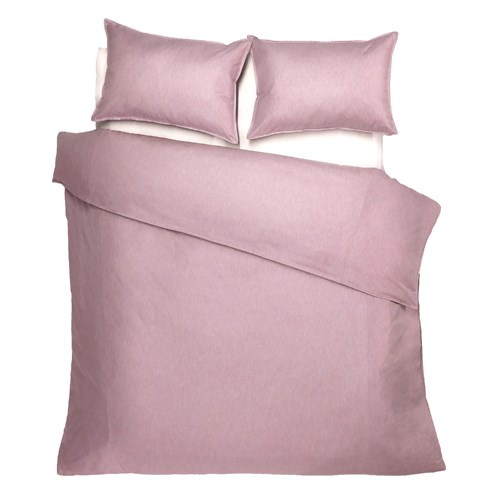 Bedford - Pink Sand -  Duvet Cover  - Queen Plus