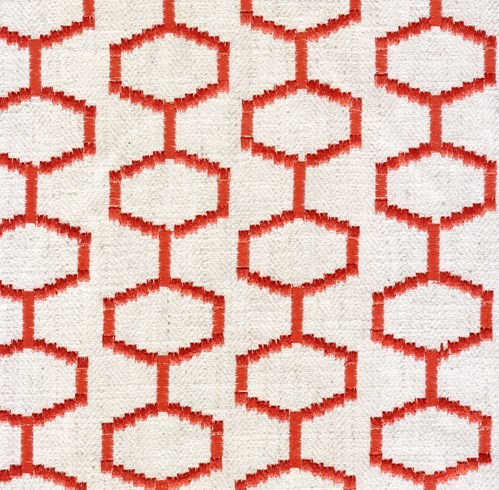 Chainstitch - Rojo - Last Call Fabric
