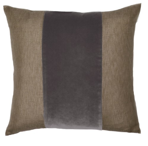 Franklin Velvet - Anchovy -  BAND Pillow - 22