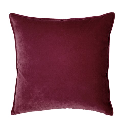 Franklin Velvet - Cordovan -  Pillow - 22