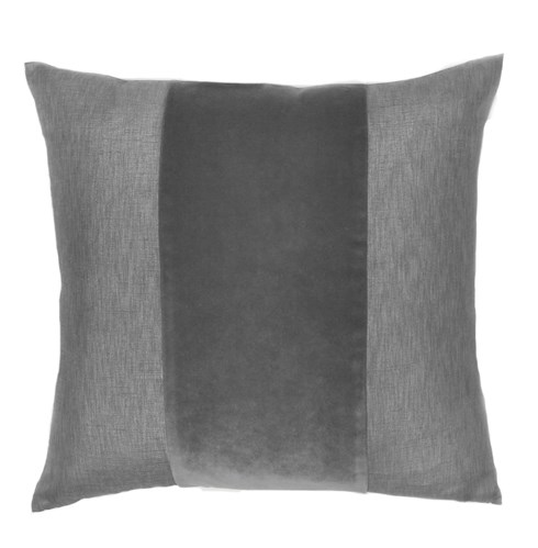 Franklin Velvet - Platinum -  BAND Pillow - 22