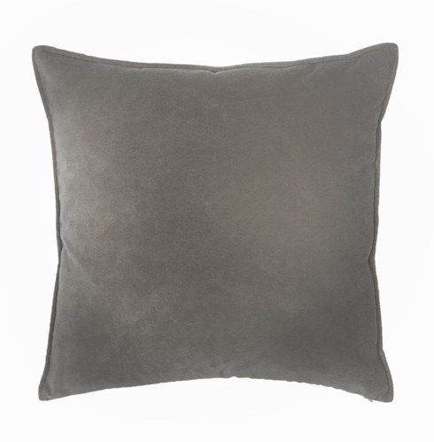 Franklin Velvet - Platinum -  Pillow - 12