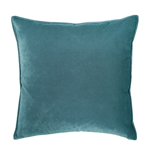 Franklin Velvet - Prussian -  Deluxe Sham - Queen