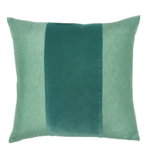 Franklin Velvet - Whirlpool -  BAND Pillow - 22