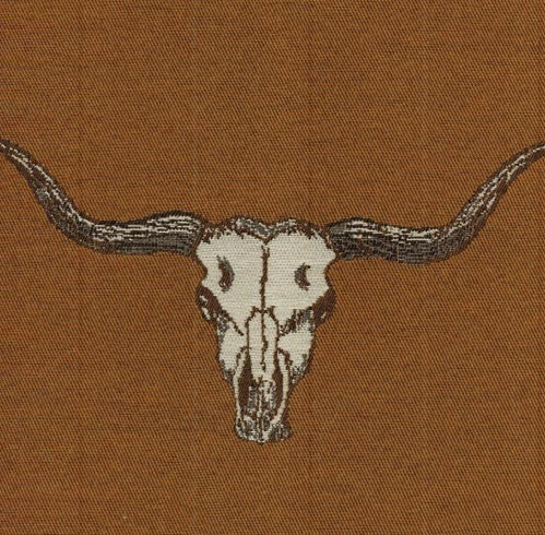 Go Longhorns - Sienna - Last Call Fabric