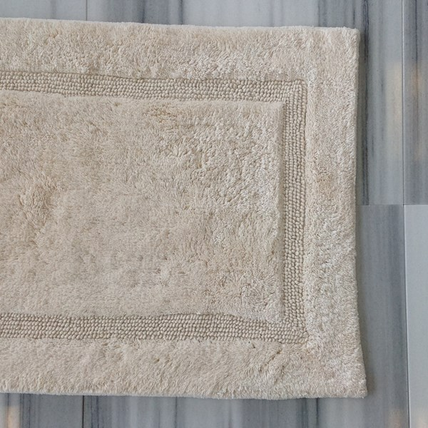 Luxury - Bath Rug - Ecru - Small