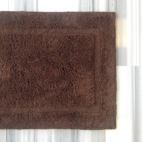 Luxury - Bath Rug - Chocolate - Medium
