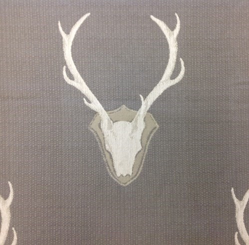 Oh Deer - Pewter - Fabric By the Yard