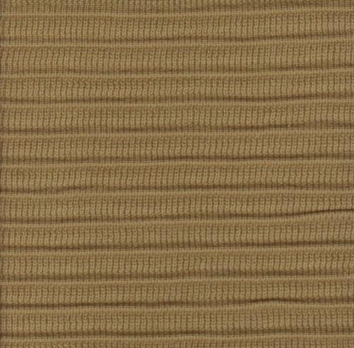 Pleated Knit - Camel - SWATCH - 4