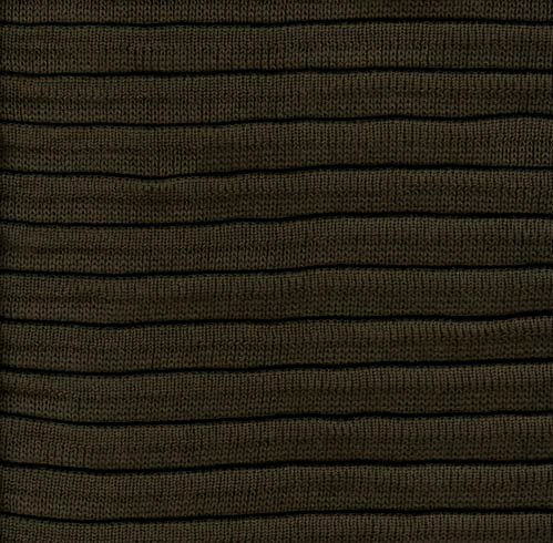 Pleated Knit - Flannel - SWATCH - 4