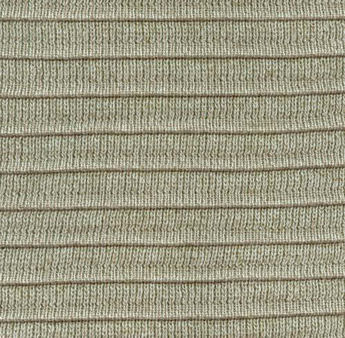 Pleated Knit - Flax - SWATCH - 4