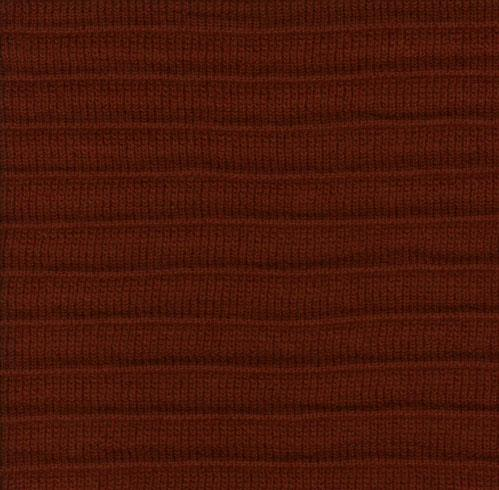 Pleated Knit - Red - SWATCH - 4