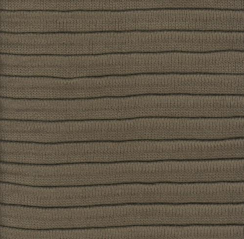 Pleated Knit - Stone - SWATCH - 4