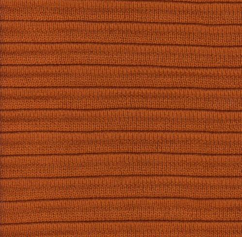 Pleated Knit - Terra Cotta - SWATCH - 4