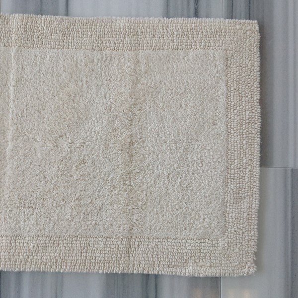 Turkish - Bath Rug - Ecru - Small