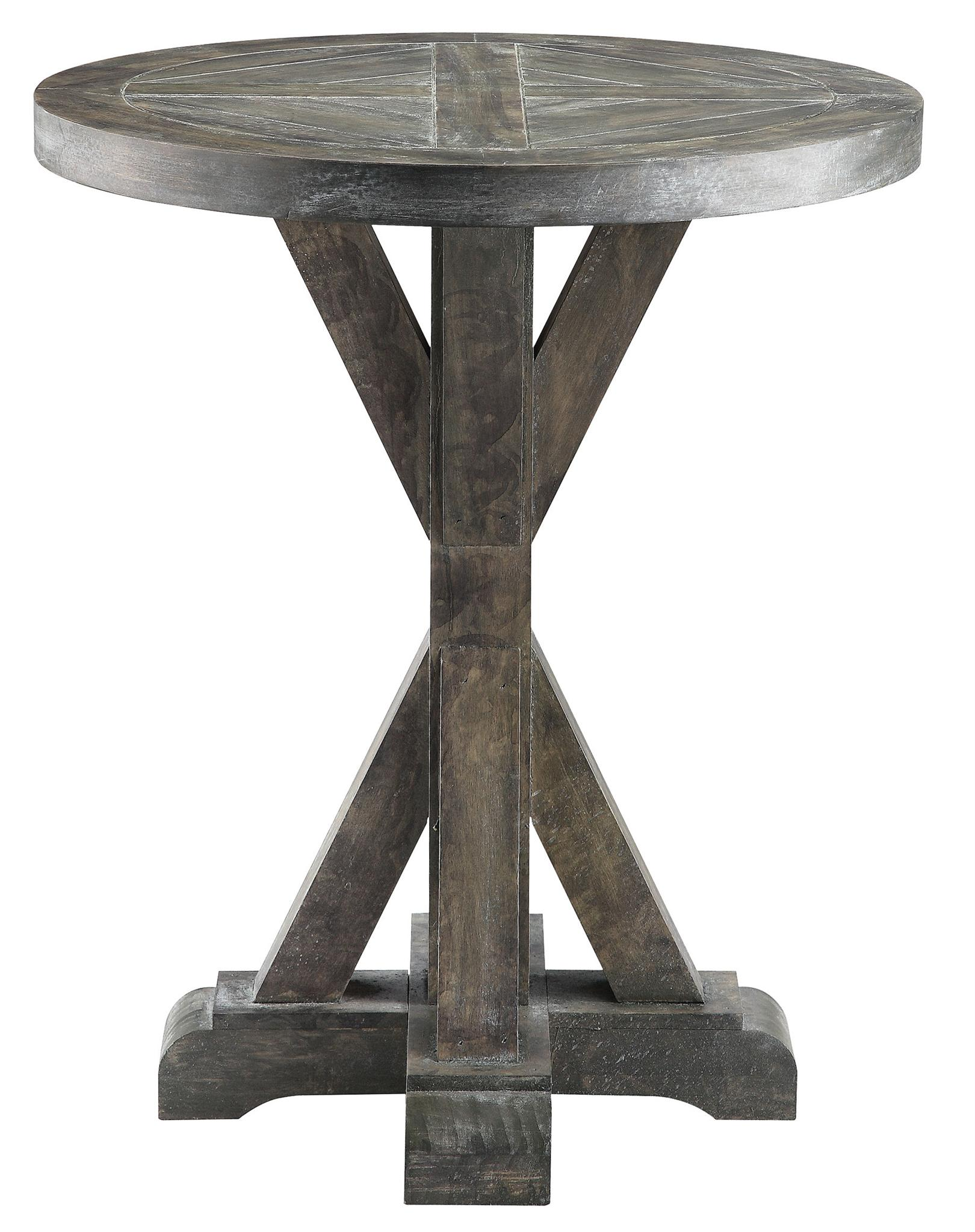Round Chairside Table Stein World