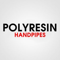 POLYRESIN HAND PIPES