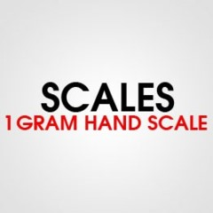 1 GRAM HAND SCALE
