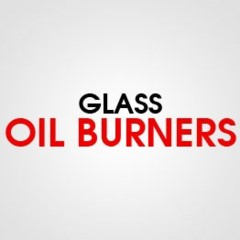 GLASS OIL BURNERS