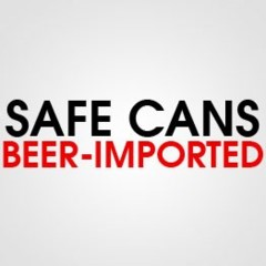 SAFE CAN BEER IMPORTED