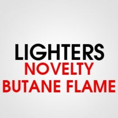 NOVELTY BUTANE FLAME LIGHTER