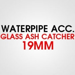 GLASS ASH CATCHER 19MM