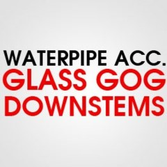 GLASS GOG DOWNSTEMS