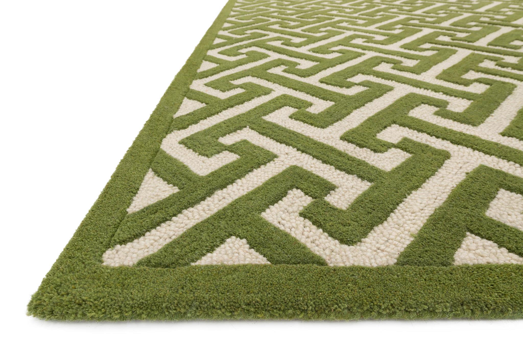4x6 loloi rug brighton lawn hand hooked wool