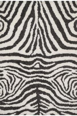 Kiara Shag Ivory / charcoal