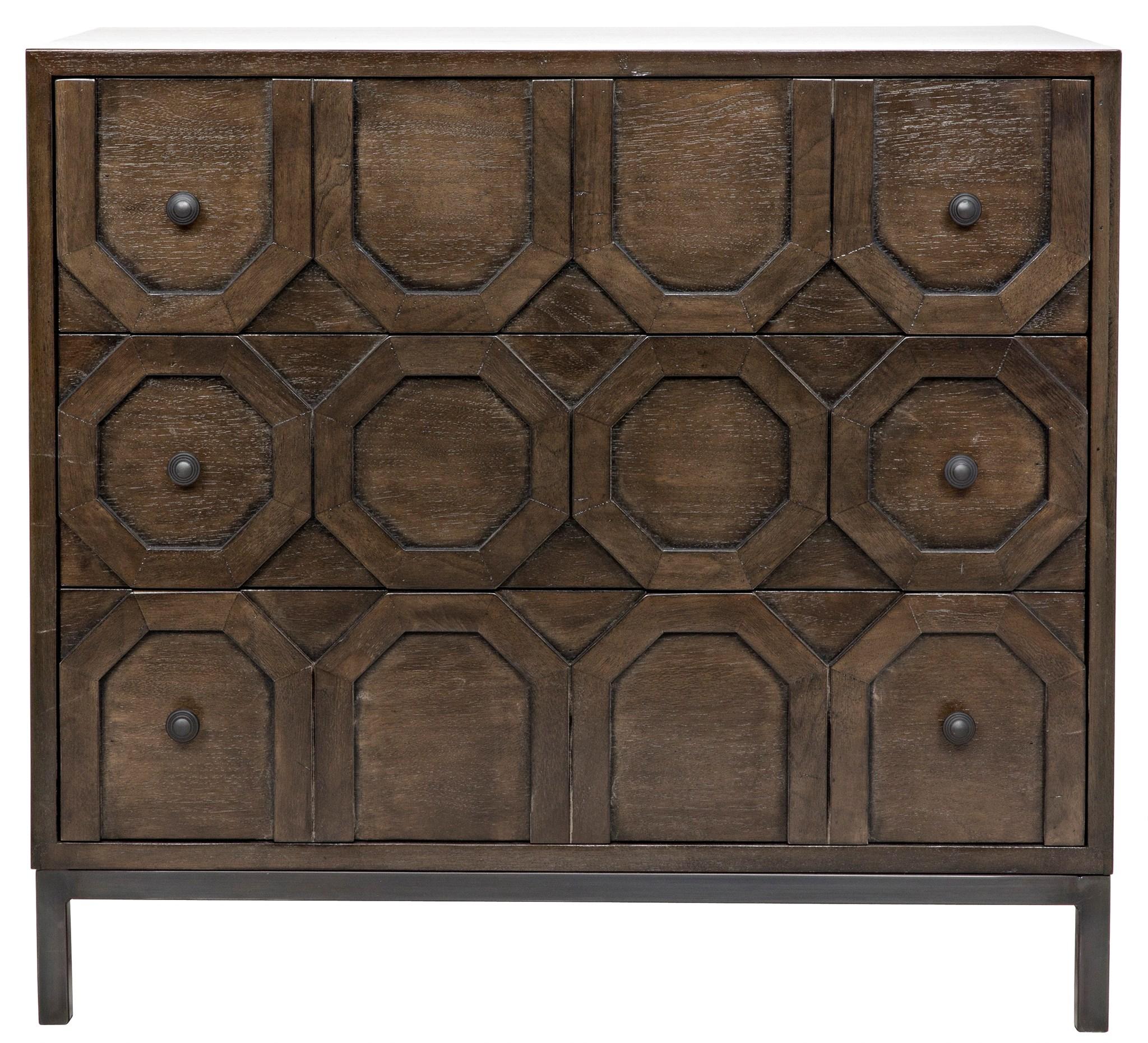 Hadley 3 Drawer Dresser