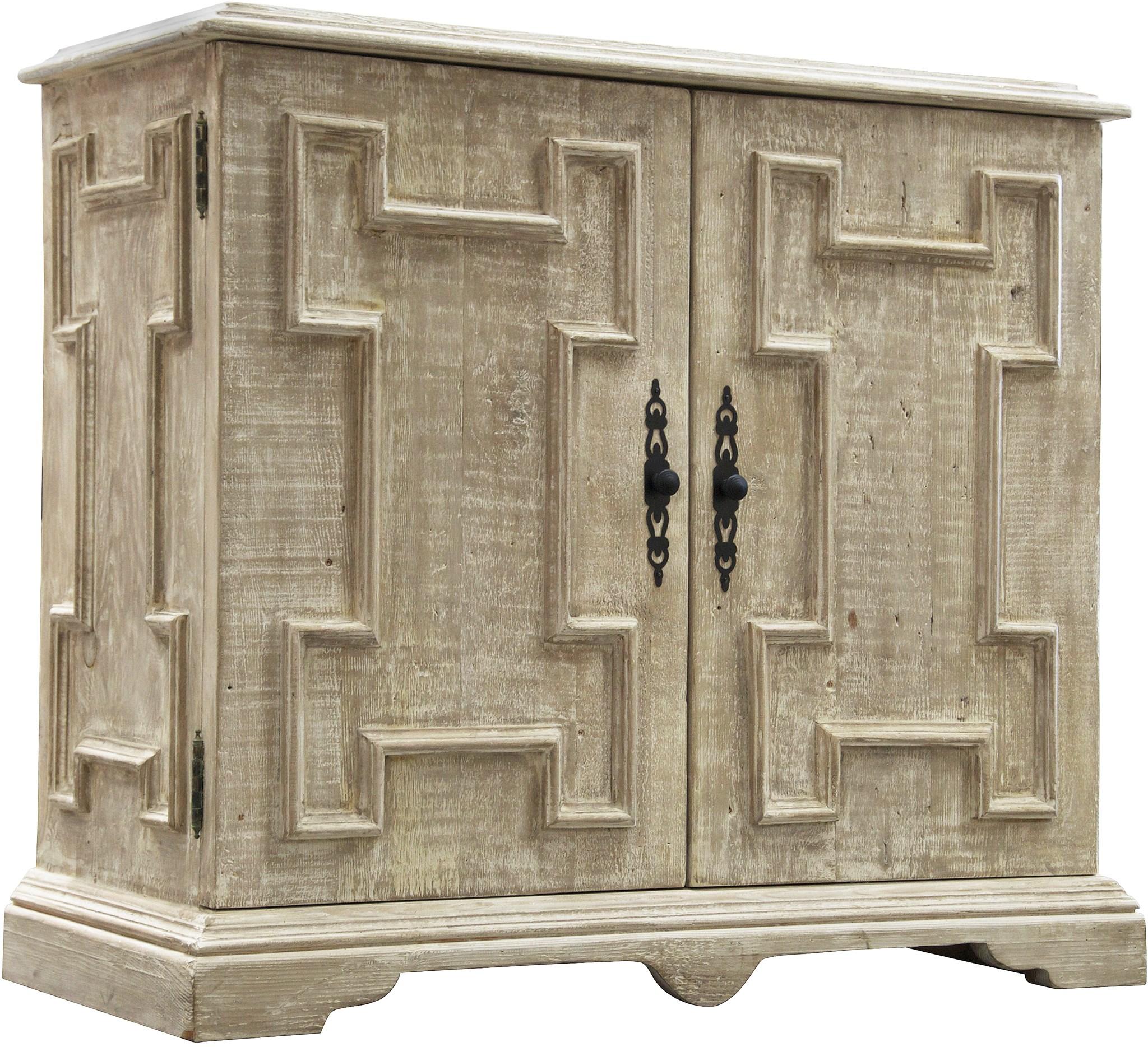 Superbe Reclaimed Lumber Gothic Cabinet
