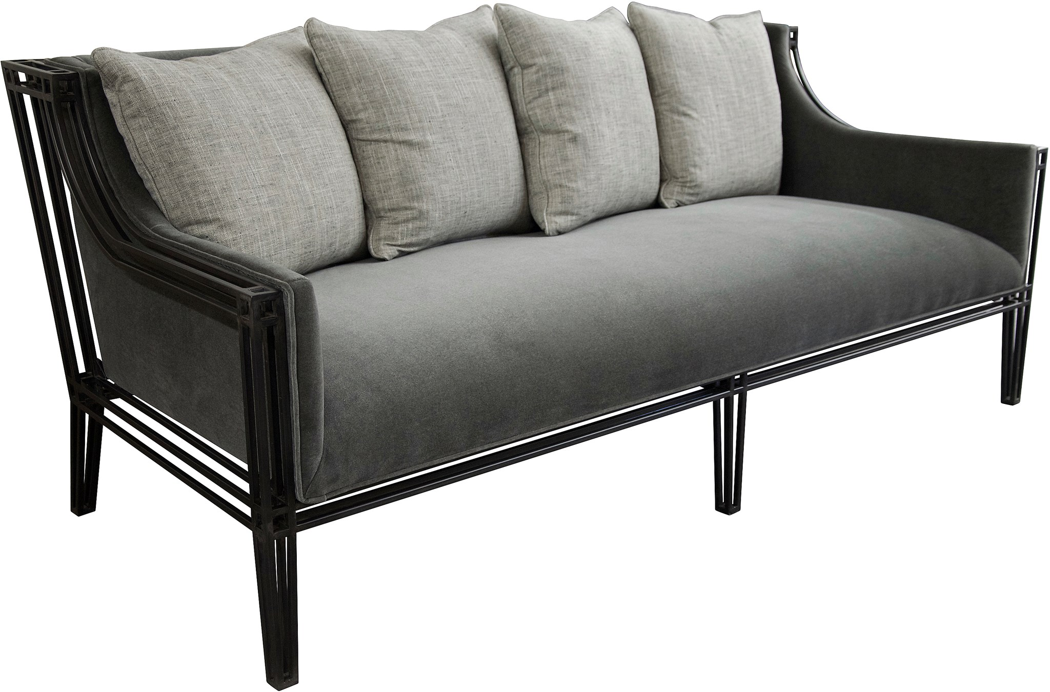 Emeryville Sofa, Steel Frame