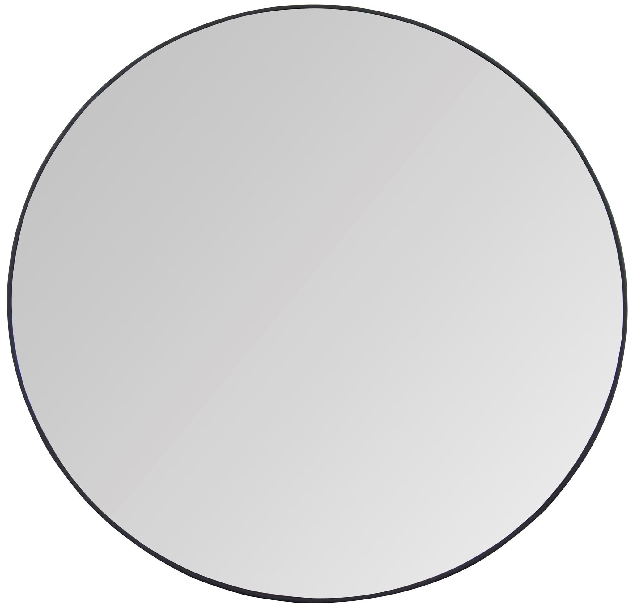 48 round mirror thin metal round argie round mirror cfc