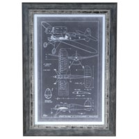 AERONAUTIC BLUE PRINTS 2