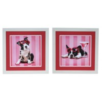 BOSTON TERRIER & FRANCAIS SET 2