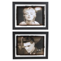 ELVIS/ MARILYN (PAIR)
