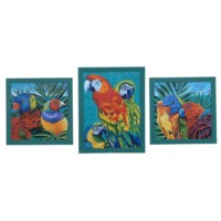BIRDS IN PARADISE 1,2,3 (SET)