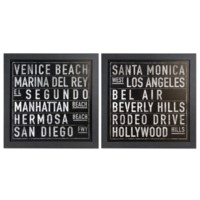 RETRO SIGNS 1&2 (SET 2)