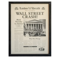 """WALL STREET CRASH"""