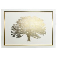 GOLD FOIL ELEPHANT TREE